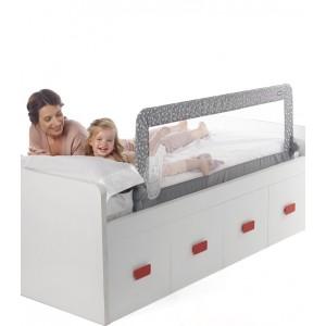 Barrera de cama abatible...